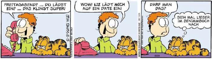 Garfield vom 17.08.2018