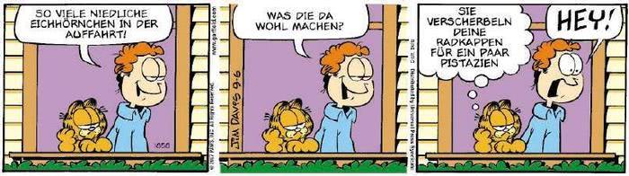 Garfield vom 31.08.2018