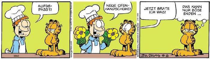 Garfield vom 04.09.2018