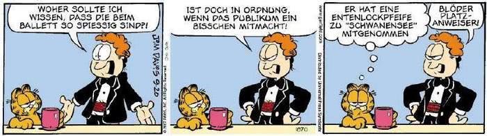 Garfield vom 18.09.2018