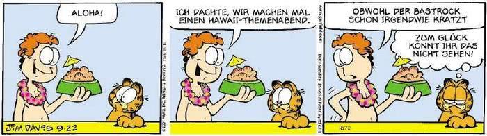 Garfield vom 20.09.2018