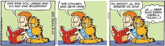 Garfield vom 24.09.2018