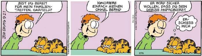 Garfield vom 26.09.2018