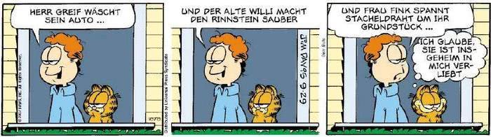 Garfield vom 28.09.2018
