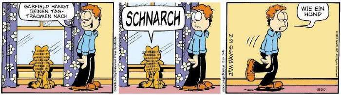 Garfield vom 02.10.2018