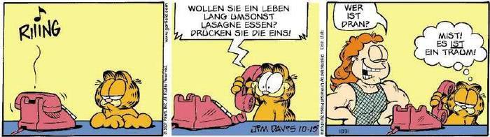Garfield vom 16.10.2018