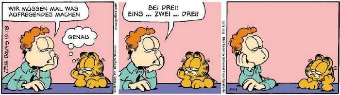 Garfield vom 18.10.2018