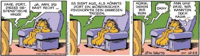 Garfield vom 23.10.2018