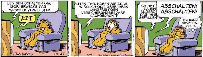 Garfield vom 30.10.2018