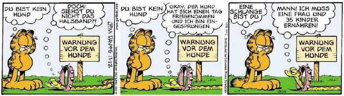 Garfield vom 01.11.2018