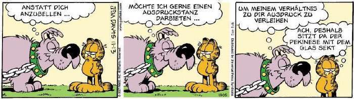 Garfield vom 02.11.2018