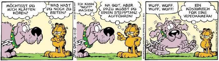 Garfield vom 06.11.2018