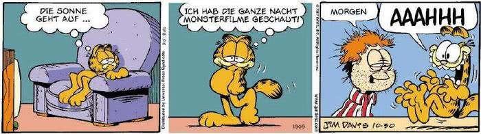 Garfield vom 08.11.2018