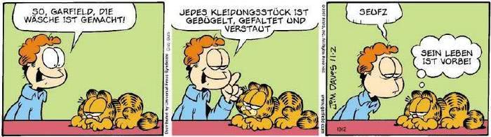 Garfield vom 13.11.2018