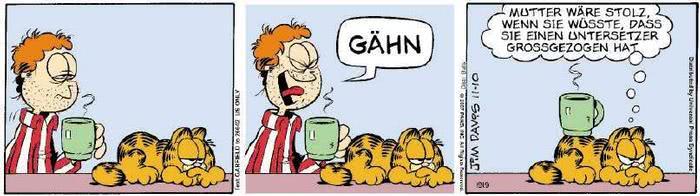Garfield vom 21.11.2018