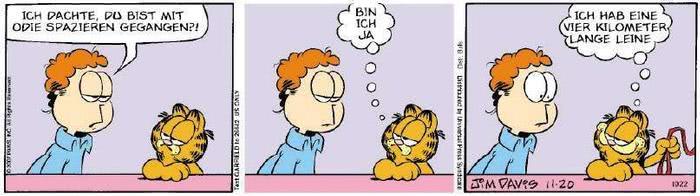 Garfield vom 26.11.2018