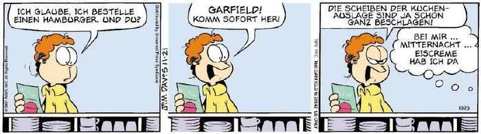 Garfield vom 27.11.2018