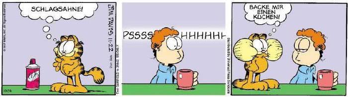 Garfield vom 28.11.2018