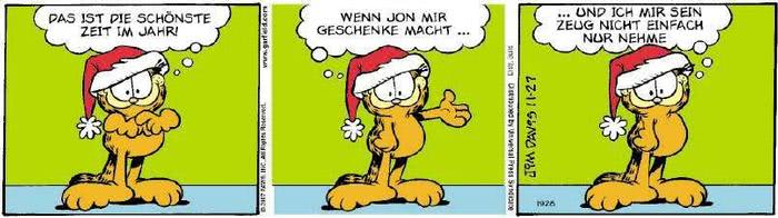 Garfield vom 30.11.2018