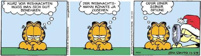Garfield vom 04.12.2018