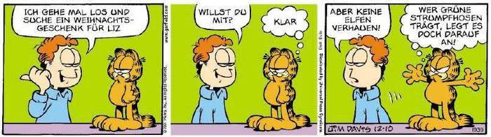 Garfield vom 17.12.2018