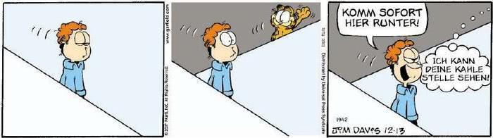 Garfield vom 20.12.2018
