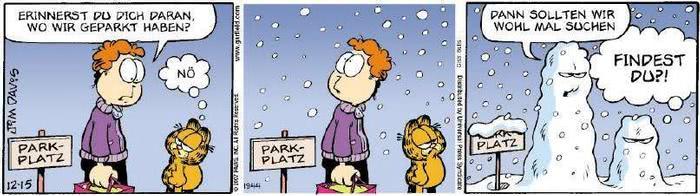 Garfield vom 27.12.2018