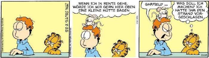 Garfield vom 15.01.2019