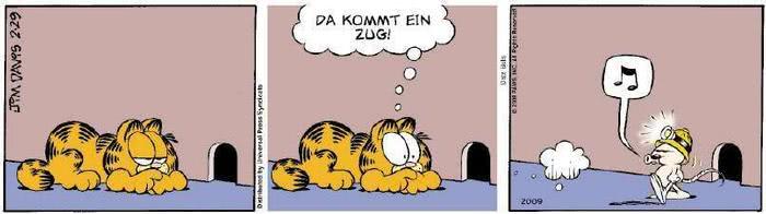 Garfield vom 16.01.2019