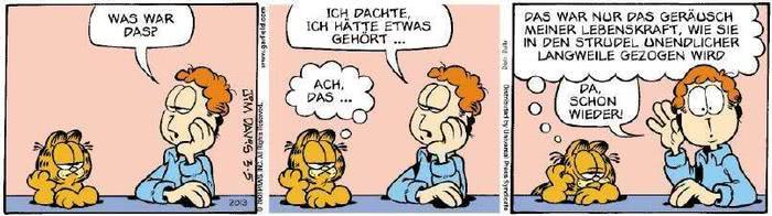 Garfield vom 22.01.2019