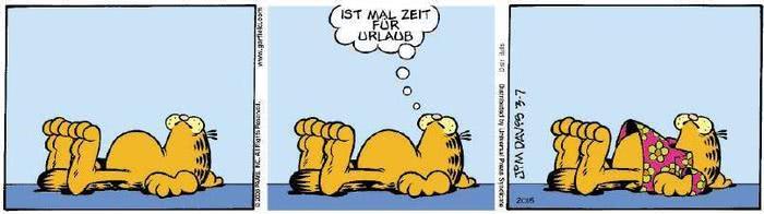 Garfield vom 24.01.2019