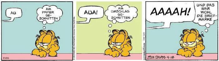 Garfield vom 31.01.2019
