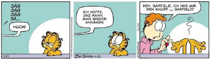 Garfield vom 05.02.2019