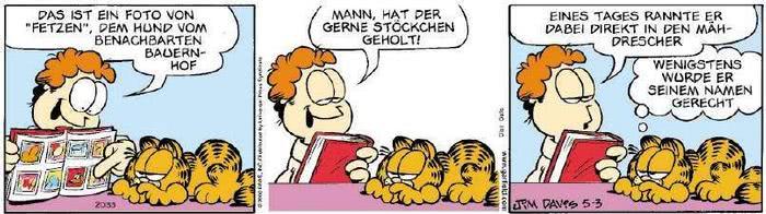 Garfield vom 19.02.2019