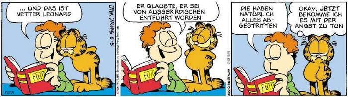 Garfield vom 21.02.2019