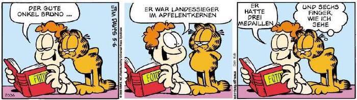 Garfield vom 22.02.2019