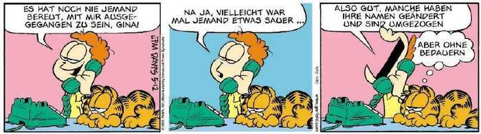 Garfield vom 01.03.2019