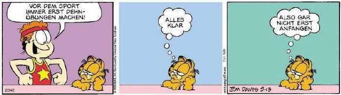 Garfield vom 04.03.2019