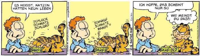 Garfield vom 22.03.2019