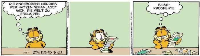 Garfield vom 25.03.2019