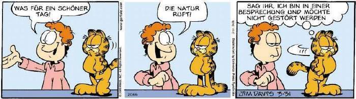 Garfield vom 03.04.2019