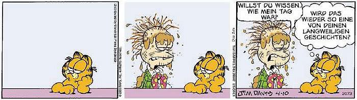 Garfield vom 16.04.2019