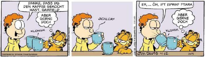 Garfield vom 18.04.2019