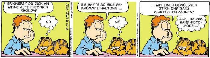 Garfield vom 08.11.2019