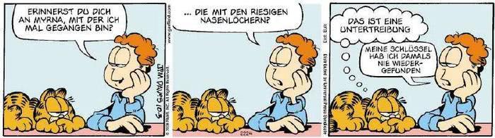 Garfield vom 11.11.2019