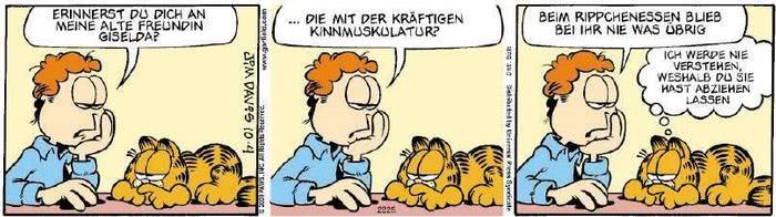 Garfield vom 12.11.2019