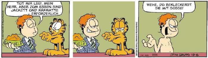 Garfield vom 13.11.2019