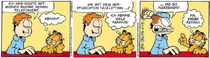 Garfield vom 21.11.2019