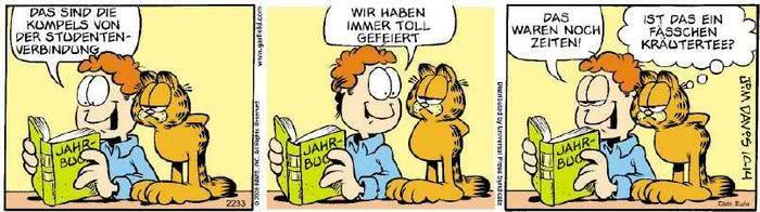 Garfield vom 22.11.2019