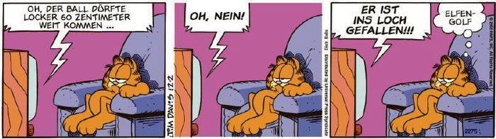 Garfield vom 05.12.2019